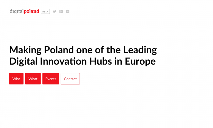 DigitalPoland homepage